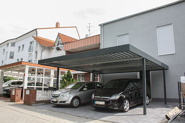 carport metall carport carports nach ma doppelcarport sortiment. Black Bedroom Furniture Sets. Home Design Ideas